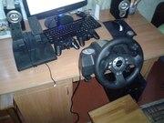 Игровой руль и джойстики для компьютера!