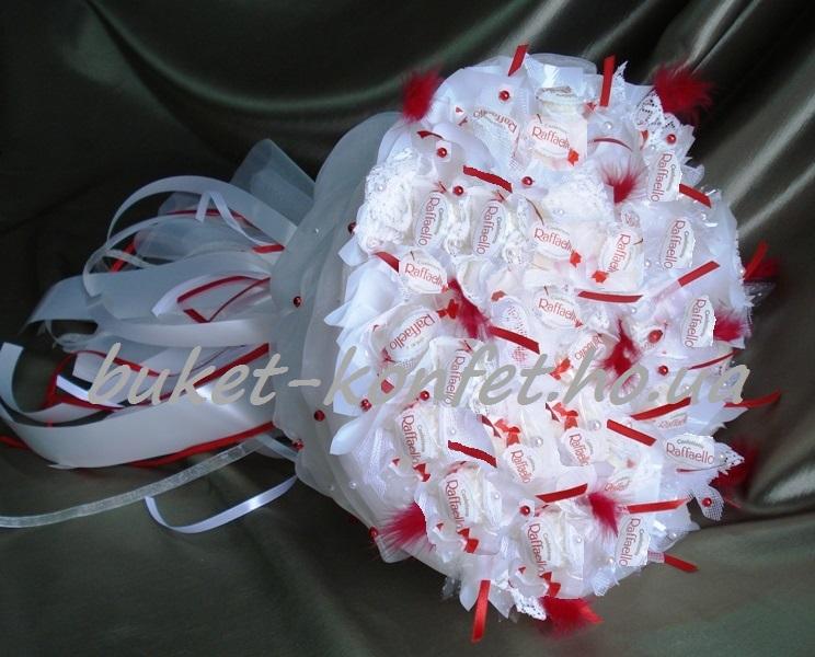 Конфетный букет на свадьбу своими руками мастер класс