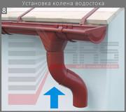 Стальная водосточная система Эко Рэйн Казахстан