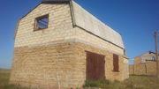 Продам недостроенный двухэтажный дом (Крым,  пгт Черноморское