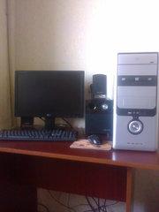 Компьютер Р-IV 2, 400 Ггц c ЖК монитором 19''(тонкии)