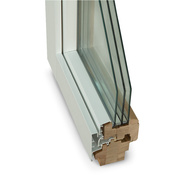 Дерево-алюминиевые окна из сосны Wooder Шымкент