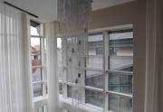 Дерево-алюминиевые окна из лиственницы с Белоруссии Караганда