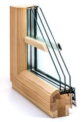 Дерево-алюминиевые окна из дуба Wooder Астана