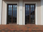 Окна из красного дерева Шымкент