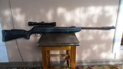 продам пневматическую винтовку  hatsan-125c оптикой газовая пружина160